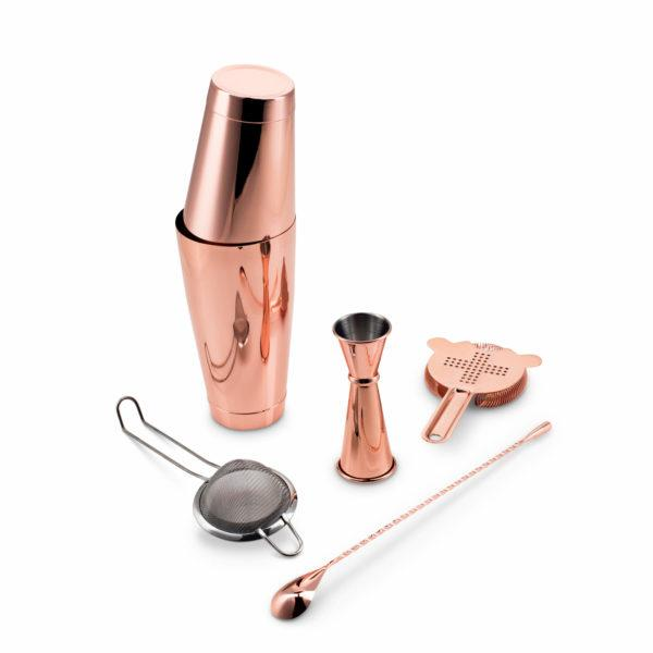 Copper Plated Shaken Cocktail Set Fifth & Vermouth