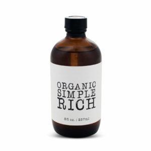 Organic Rich Simple Syrup Natural Cane Sugar
