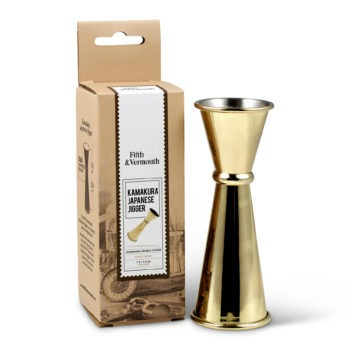 Kamakura Japanese Double Jigger Gold with Package - Fifth & Vermouth