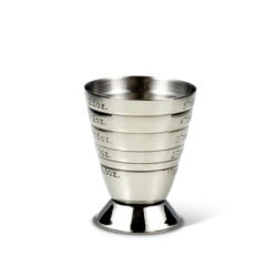 Multi Level Cocktail Jigger Stainless Steel ml oz tbsp Fifth & Vermouth