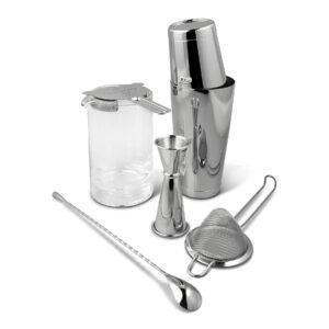 Shaken & Stirred Cocktail Set - Stainless Steel