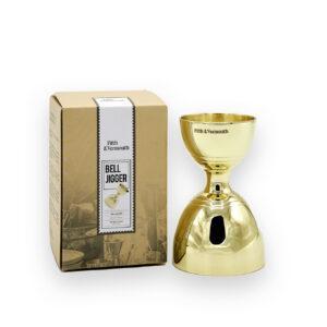 Bell Jigger 1oz 2 oz Gold Canada